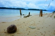 La plage abandonnée de Taipi