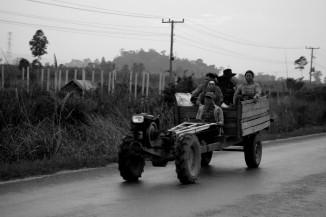 Le trabsport en commun laotien