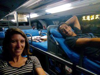 Les bus couchette chinois